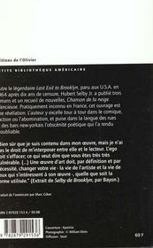 Chanson De La Neige Silencieuse - 4ème de couverture - Format classique