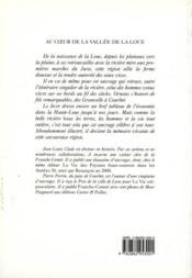 Au Coeur De La Vallee De La Loue - Couverture - Format classique