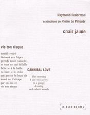 Chair jaune - Couverture - Format classique
