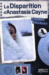 La disparition d'Anastasia Cayne - Intérieur - Format classique