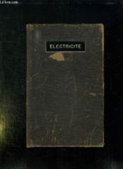 Electricite Appliquee. Pour Le Cap Et Le Bep De L Electrotechnique. - Couverture - Format classique