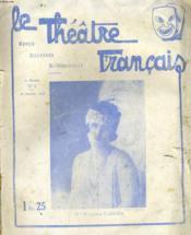 LE THEATRE FRANCAIS - 2e ANNEE - N°3 - Couverture - Format classique