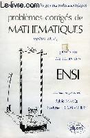 Problemes Corriges De Mathematiques Ensi Tome 1 1976-1980 - Couverture - Format classique