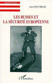 Les russes et la sécurité européenne - Couverture - Format classique