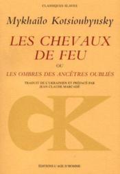 Chevaux De Feu (Les) - Couverture - Format classique