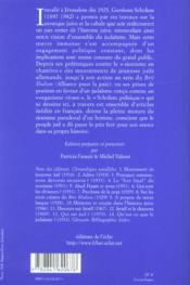 Le prix d'israël ; écrits politiques - 4ème de couverture - Format classique