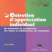 Entretien Appreciation Indiv. - Couverture - Format classique