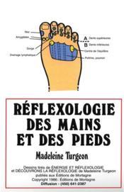 Reflexologie mains et des pieds (affiche) - Couverture - Format classique