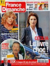 France Dimanche N°3422 du 30/03/2012 - Couverture - Format classique