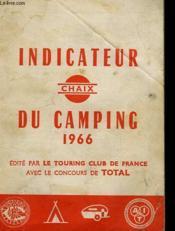 Indicateur Du Camping 1966 - Couverture - Format classique