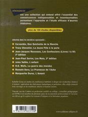 Étude sur le mystère de la chambre jaune et le parfum de la dame en noir de Gaston Leroux - 4ème de couverture - Format classique