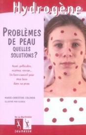 Problemes de peau, quelles solutions ? - Couverture - Format classique