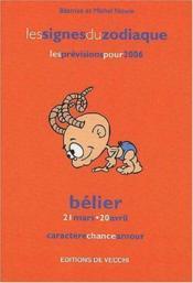 Zodiaques 2006 : Belier - Couverture - Format classique