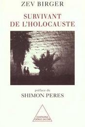 Survivant De L'Holocauste - Intérieur - Format classique