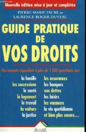 Guide Pratique De Vos Droits - Couverture - Format classique