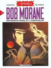 Bob Morane ; intégrale t.3 ; monsieur Ming et l'empereur - Intérieur - Format classique