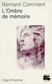 Ombre De Memoire Ps113 - Couverture - Format classique