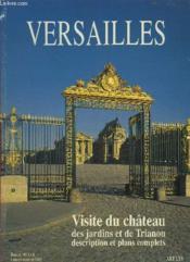 Versailles, [visite du chateau, des jardins et de trianon, description et plans - Couverture - Format classique