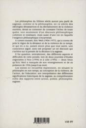 Philosophie Et Sagesse - 4ème de couverture - Format classique