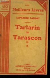 Tartarin De Tarascon Tome 2. Collection : Les Meilleurs Livres N° 63. - Couverture - Format classique