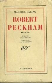 Robert Peckham. - Couverture - Format classique