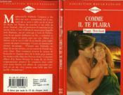 Comme Il Te Plaira - Miss Prim - Couverture - Format classique