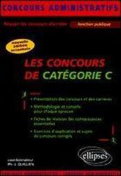 Les concours de categorie c nouvelle edition actualisee - Nouvelle grille indiciaire categorie c fonction publique hospitaliere ...
