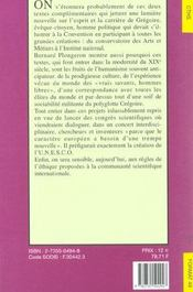 Format T.49 ; L'Abbé Grégoire Et La République Des Savants - 4ème de couverture - Format classique