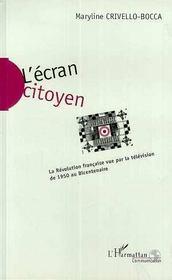 L'écran citoyen - Intérieur - Format classique