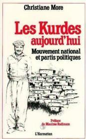 Kurdes Aujourd'Hui - Couverture - Format classique