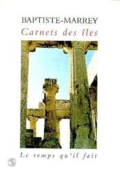 Carnets Des Iles - Couverture - Format classique