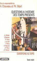 Questions a l histoire du temps present - Couverture - Format classique