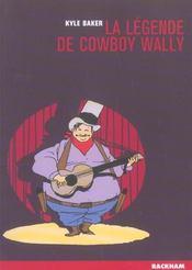 Legende De Cowboy Wally (La) - Intérieur - Format classique