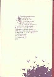 Cerisiers (les) - 4ème de couverture - Format classique