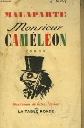 Monsieur Camaeleon - Couverture - Format classique