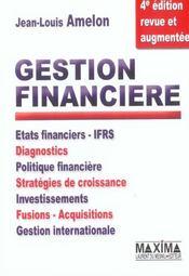 Gestion financiere - Intérieur - Format classique