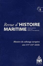Histoire du cabotage en europe - Intérieur - Format classique