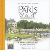 Carnet De Paris 6e Et 14e Arrondissements - Couverture - Format classique