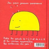 Petit parrondo n3 - 4ème de couverture - Format classique