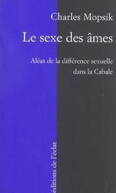 Le sexe des âmes, les aléas de la différence sexuelle dans la cabale - Intérieur - Format classique
