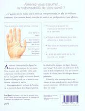 Vos Mains ; Miroir De Votre Sante - 4ème de couverture - Format classique