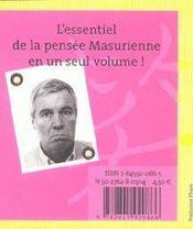 Le Petit Livre De Bruno Masure - 4ème de couverture - Format classique