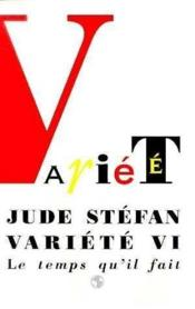 Variete Vi - Couverture - Format classique