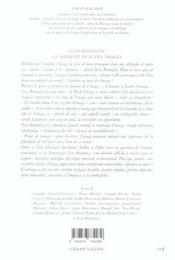 Yves Bonnefoy Lumiere Et Nuit Des Images - 4ème de couverture - Format classique