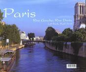 Paris. Rive Gauche, Rive Droite. Bilingue Francais-Anglais - 4ème de couverture - Format classique