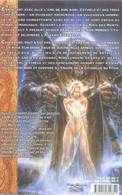 Citadelle Du Titan-Le Dit De Cythele 3/4 - 4ème de couverture - Format classique