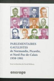 Parlementaires Gaullistes - Couverture - Format classique