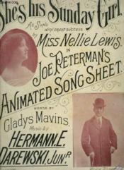 She'S His Sunday Girl - Piano Et Chant. - Couverture - Format classique