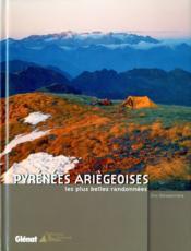 Pyrénées ariégeoises, les plus belles randonnées - Couverture - Format classique