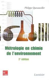 Metrologie en chimie de l'environnement 2 edition - Couverture - Format classique